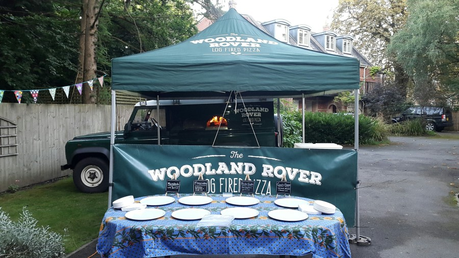 Land Rover pizzas, perfect for a party!